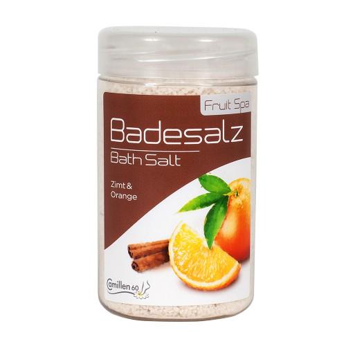 Соль для ножных ванн Апельсин Корица фото