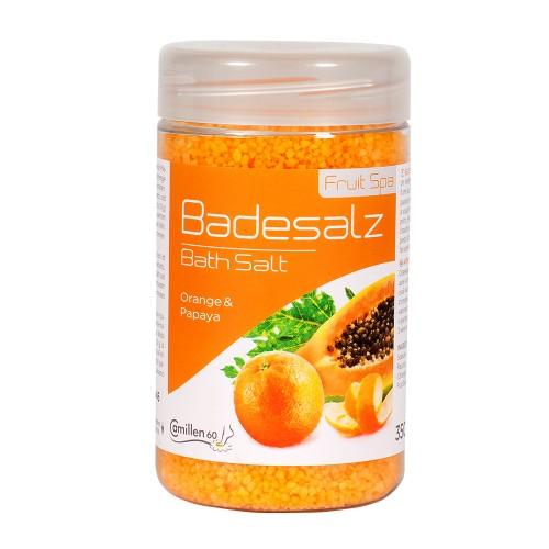 Соль для ножных ванн Апельсин Папайя фото