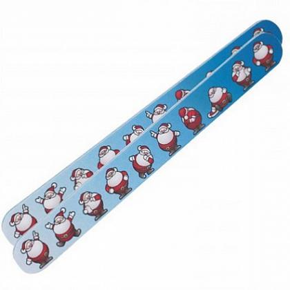 Пилка для ногтей Санта Клаус синяя, купить, цена